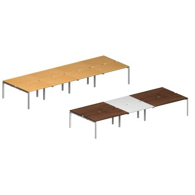 Home & Haus Revamp II 4.8m Rectangular Conference Table