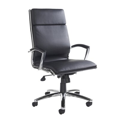 Home & Haus Affreden High-Back Leather Executive Chair