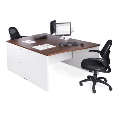Office Basics Maestro 25 Desk Shell with Cable Management