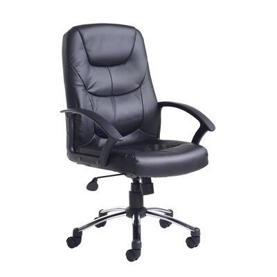 Home & Haus Majestic High-Back Leather Executive Chair