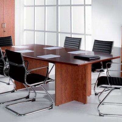 Home & Haus Concerto Boardroom Table in Cherry