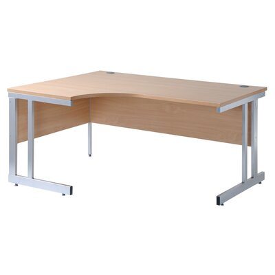 Home & Haus Momento Desk Shell with Cable Management