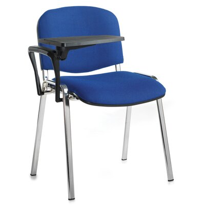 Home & Haus Ellemeet Writing Tablet Stacking Chair with Cushion