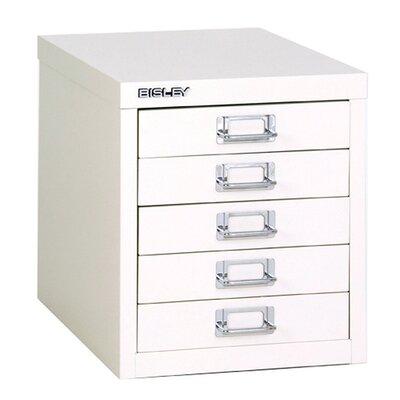 Home & Haus Bisley 5-Drawer Vertical Filing Cabinet
