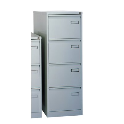 Home & Haus Bisley 4-Drawer Vertical Filing Cabinet