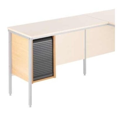 Home & Haus Computer Desk with Cable Management