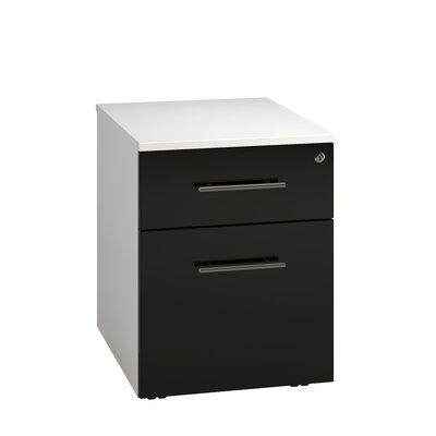 Home & Haus Lepus 2-Drawer Vertical Filing Cabinet