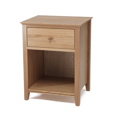 Home & Haus Furud 1 Drawer Bedside Table