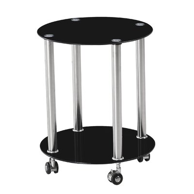 Home & Haus Mobile Side Table
