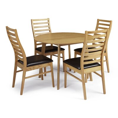 Home & Haus Mannum Dining Table and 4 Chairs