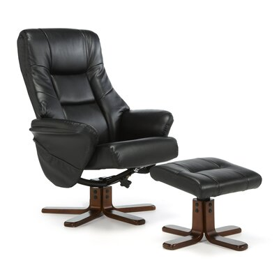 Home & Haus Agery Recliner and Footstool