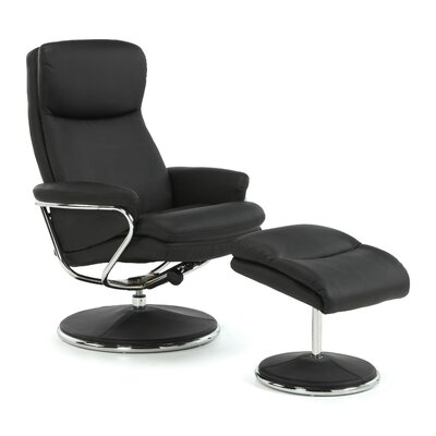 Home & Haus Dokos Recliner and Footstool