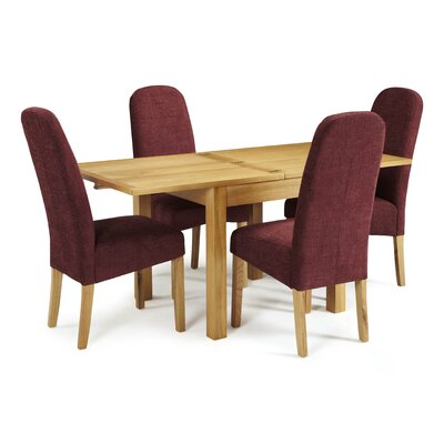 Home & Haus Galga Extendable Dining Table and 4 Chairs
