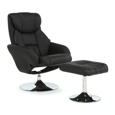 Home & Haus Nairne Recliner and Footstool