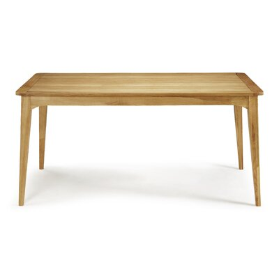 Home & Haus Bodallin Dining Table in 90 cm W x 160 cm L