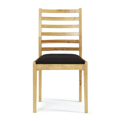 Home & Haus Bodallin Solid Oak Upholstered Dining Chair