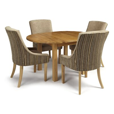 Home & Haus Freeling Extendable Dining Table and 4 Chairs