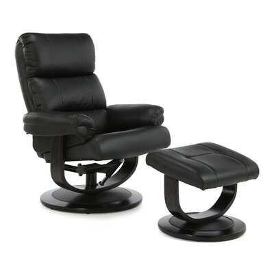 Home & Haus Millbrook Recliner and Footstool