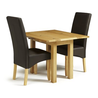 Home & Haus Muckleford Extendable Dining Table and 2 Chairs