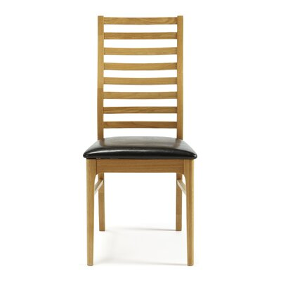Home & Haus Bornholm Solid Oak Upholstered Dining Chair