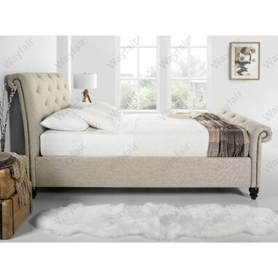 Home & Haus Tingha Upholstered Bed Frame
