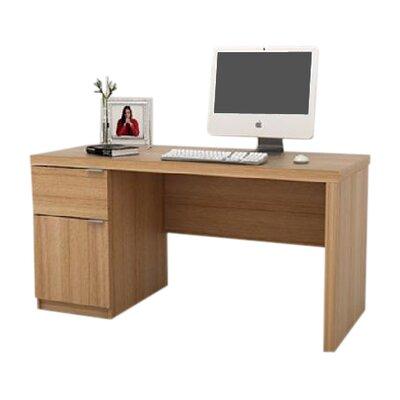 Home & Haus Jonus Computer Desk with Cable Management