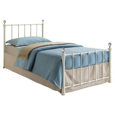 Home & Haus Jessica Single Wrought Iron Bed
