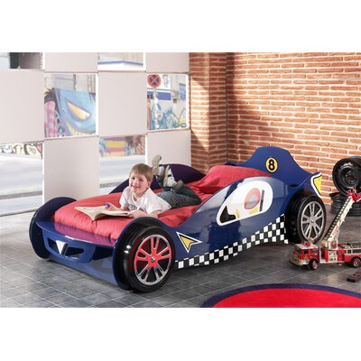 Home & Haus Sprinter Boys Racing Small Single Car Bed