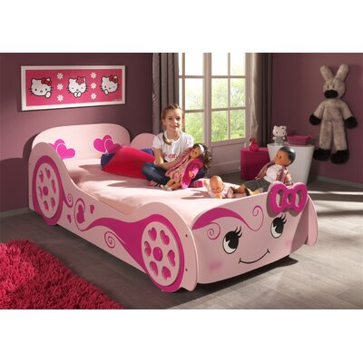 Home & Haus Mustang Racing Car Bed