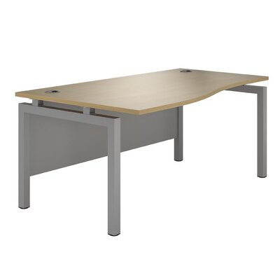 Home & Haus Lepus Desk Shell with Cable Management
