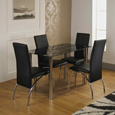 Home & Haus RoatanDining Table and 4 Chairs