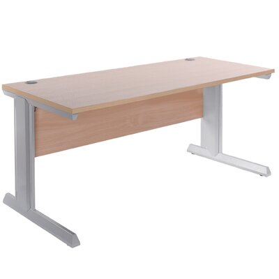 Home & Haus Vivo Desk Shell with Cable Management