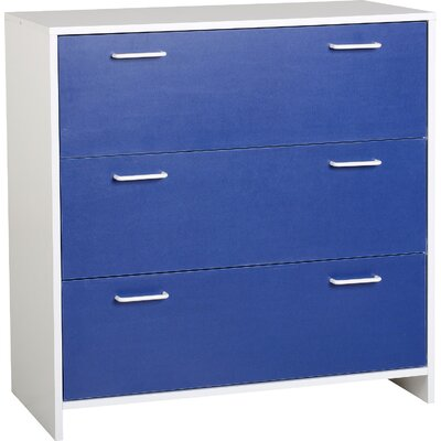 Home & Haus Lollipop 3 Drawer Chest of Drawers