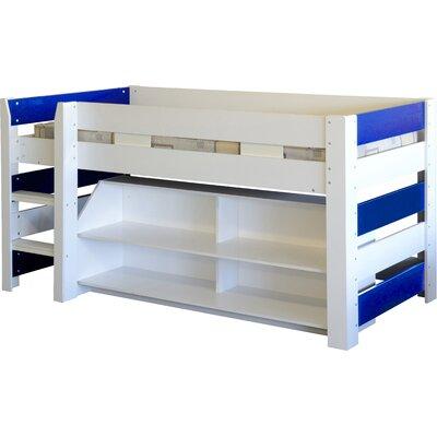Home & Haus Lollipop Mid Sleeper Bed with Storage