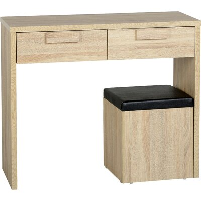 Home & Haus Cambourne 2 Drawer Dressing Table Set