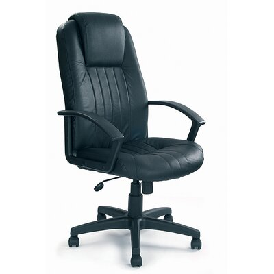 Home & Haus Oversized High-Back Executive Chair with Lumbar Support