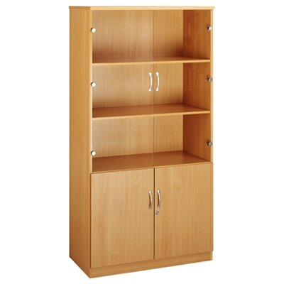 Home & Haus Deluxe Combination 160cm Barrister Bookcase