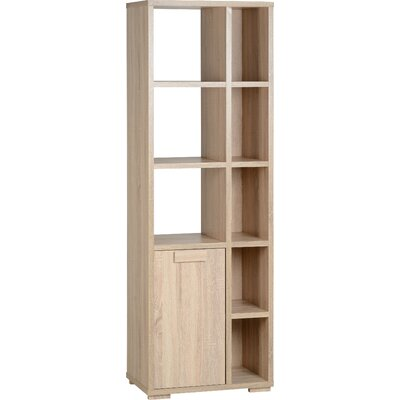 Home & Haus Penfold Low Narrow 60.5cm Standard Bookcase