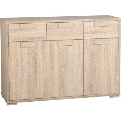 Home & Haus Penfold 3 Door 3 Drawer Sideboard