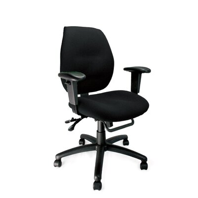 Home & Haus Mid-Back Task Chair with Lumbar Support