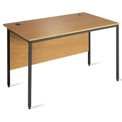 Home & Haus Ganzert 25 Desk Shell with Cable Management
