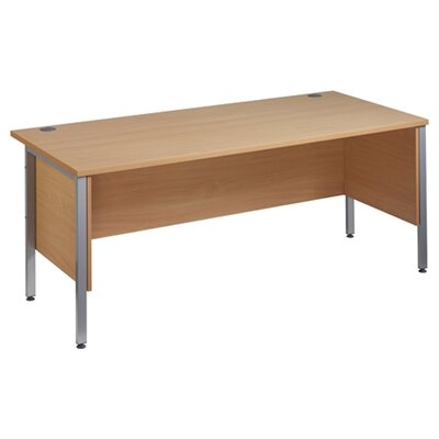 Home & Haus Maestro 25 Desk Shell with Cable Management