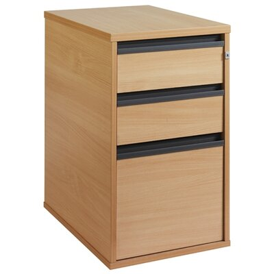 Home & Haus Maestro 3-Drawer Vertical Filing Cabinet