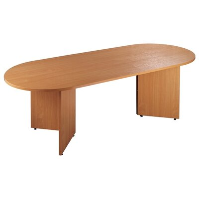 Home & Haus Boardroom Radial End Table