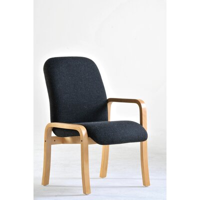 Home & Haus Max Modular Wooden Framed Reception Chair with Fixed Left Arm