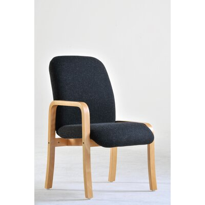 Home & Haus Max Modular Wooden Framed Reception Chair with Fixed Right Arm