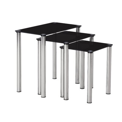 Home & Haus 3 Piece Nest of Tables