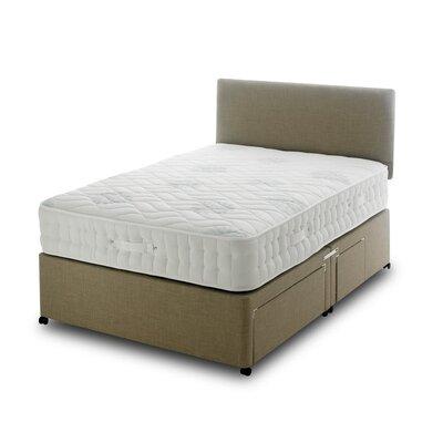 Home & Haus Dallas Memory Sprung 1400 Divan Bed