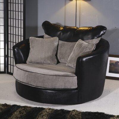 Home & Haus Line Swivel Lounge Chair