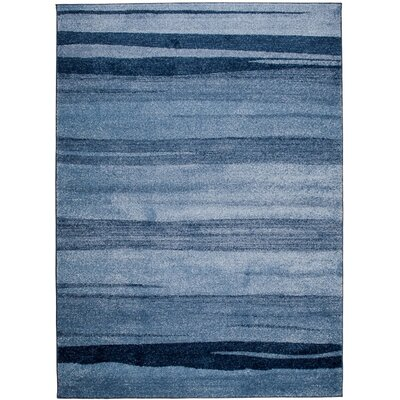 Home & Haus Barite Blue Area Rug